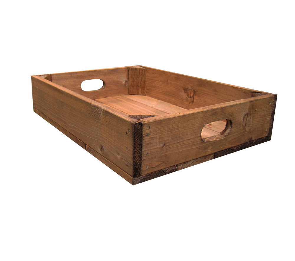 Wooden crates reclaimed wood apple crates rustic crate for Where do i find wooden crates