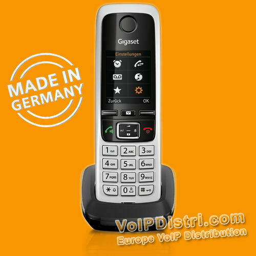 gigaset c430hx handset additional dect handset for c430 ip c430a ip fritzbox ebay. Black Bedroom Furniture Sets. Home Design Ideas