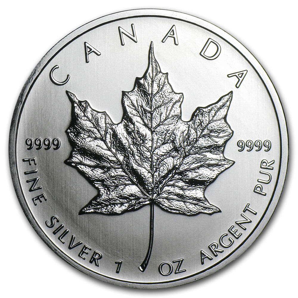 2011 Canada 1 Oz Silver Maple Leaf Bu Sku 59158 Ebay