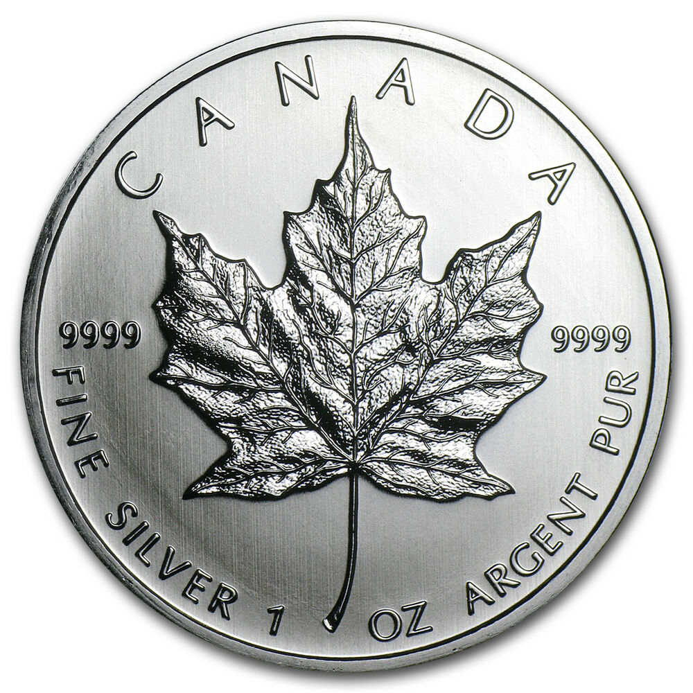 2011 1 Oz Silver Canadian Maple Leaf Coin Ebay