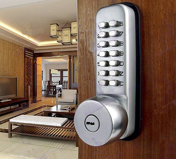 Keyless Digital Code Keypad Button Machinery Password Door