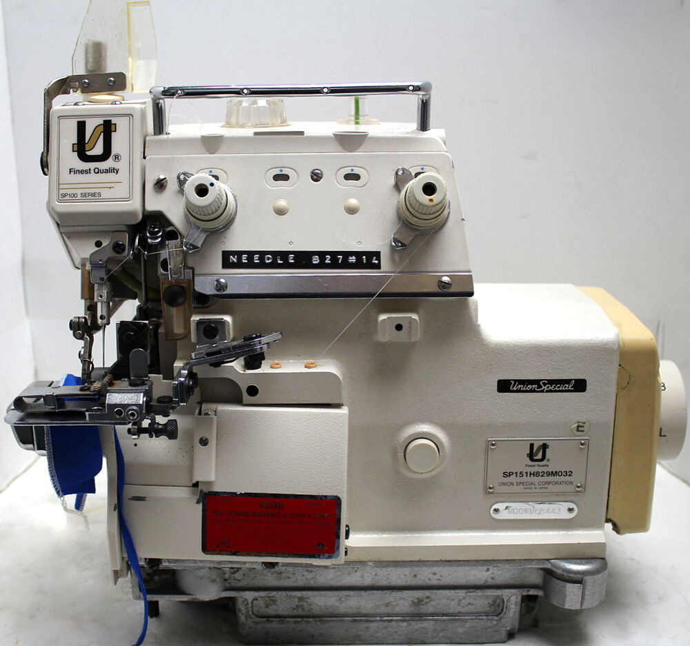 union special sp151 1 needle 2 thread serger industrial sewing machine head only ebay. Black Bedroom Furniture Sets. Home Design Ideas