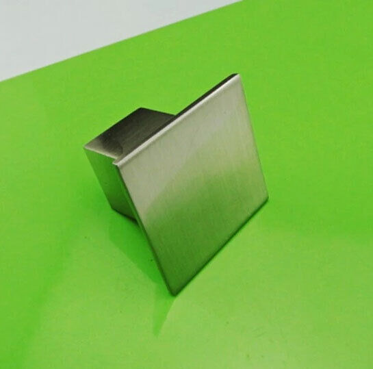 Square Stainless Steel Ss Brushed Kitchen Cabinet Door