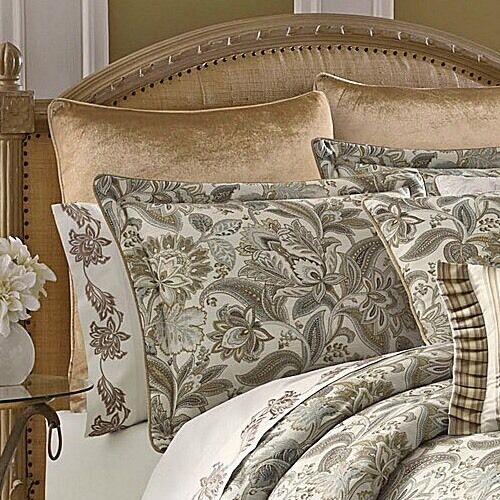 J Queen New York Golden Fields One Reversible Euro Sham