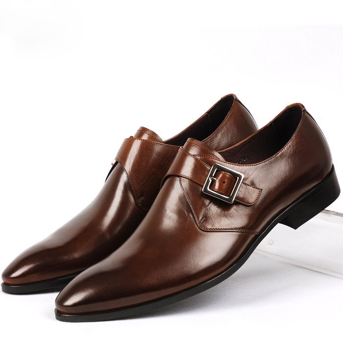new buckle slip on loafers leather oxford classic
