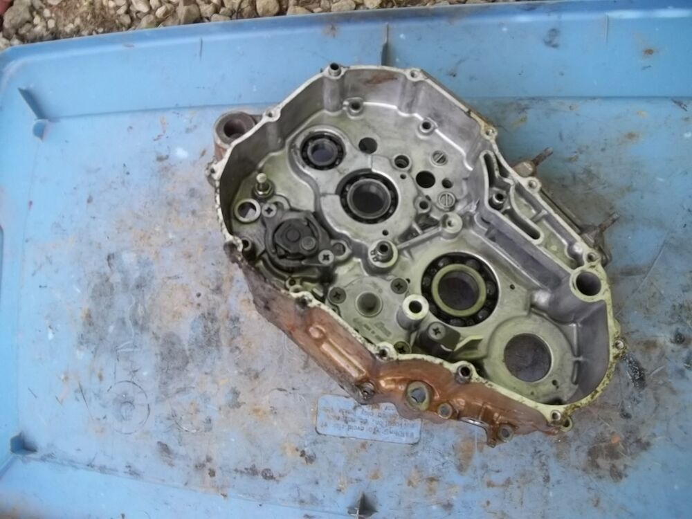 2007 Arctic Cat 400 Dvx Engine Case Motor Housing Crank