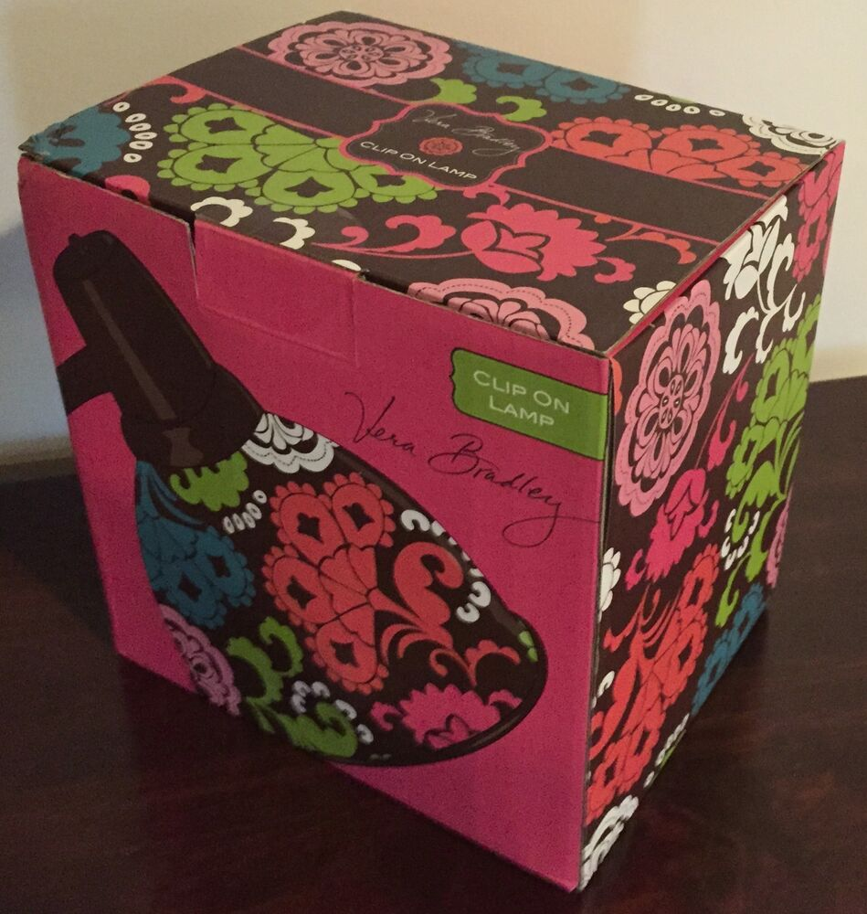 Vera Bradley Clip On Lamp Lola Reading Desk Lamp Light