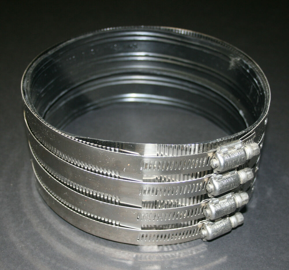 2 Inch Stainless Steel Coupling : Stainless steel shielded no hub coupling mifab mi