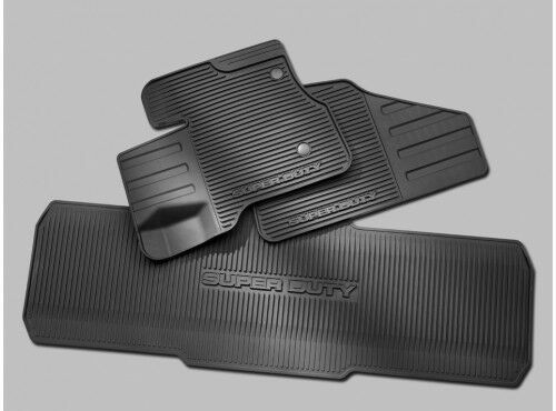 Ford Super Duty Floor Mats All Weather Thermoplastic Dc3z