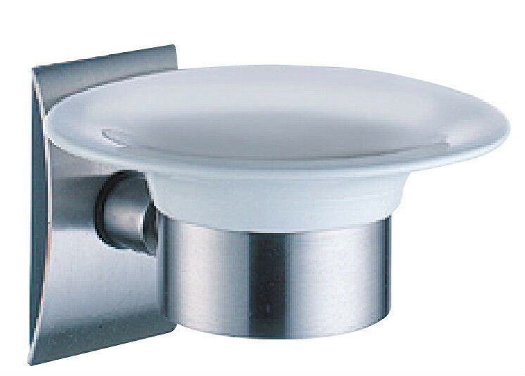 Justime Stainless Steel Wall Mount Soap Dish With Brushed