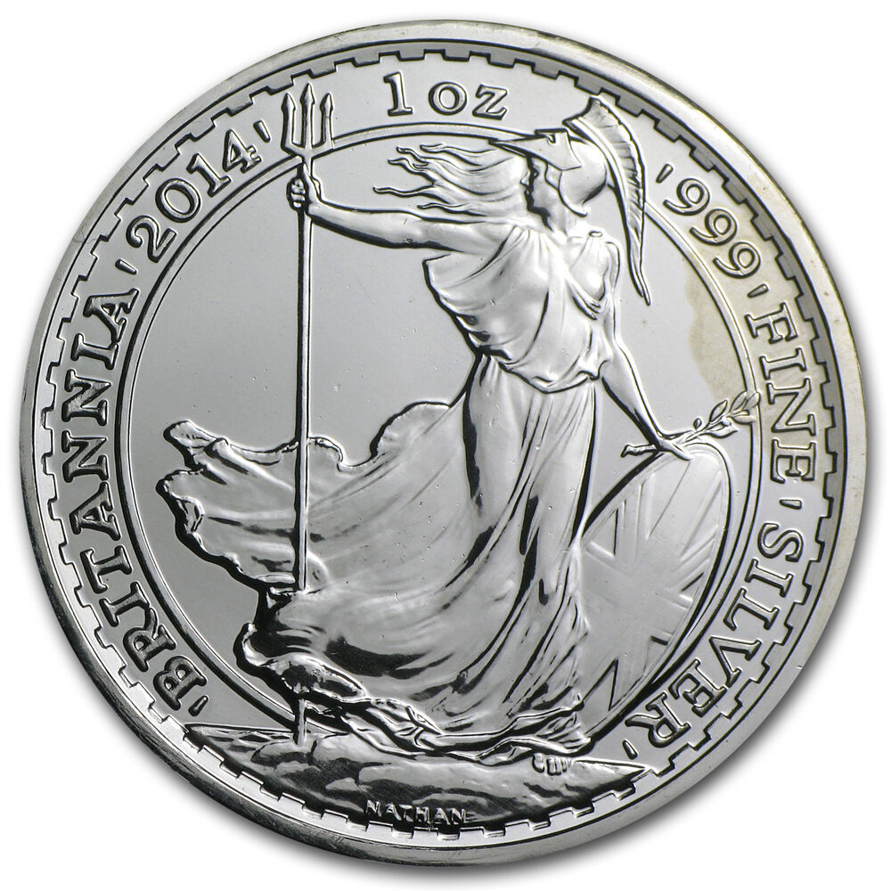2014 1 Oz Silver Britannia Year Of The Horse Privy