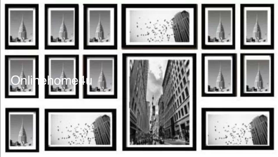 15pcs Multi Photo Picture Frame Photo Frame Wall Hang