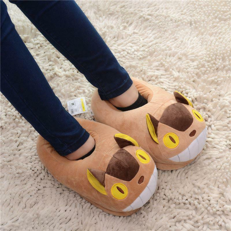 My Neighbor Totoro Cat Bus Adult Slippers Costume Cosplay ...