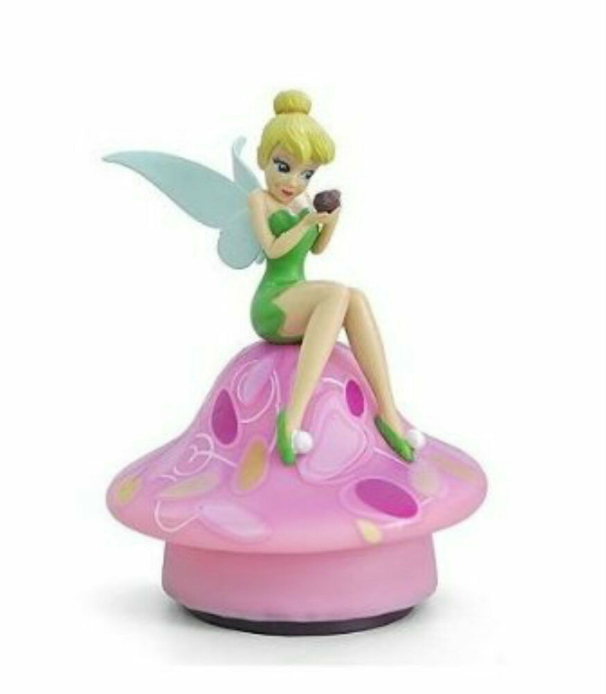 Disney Fairies Tinker Bell Led Glowing Night Light Lamp By