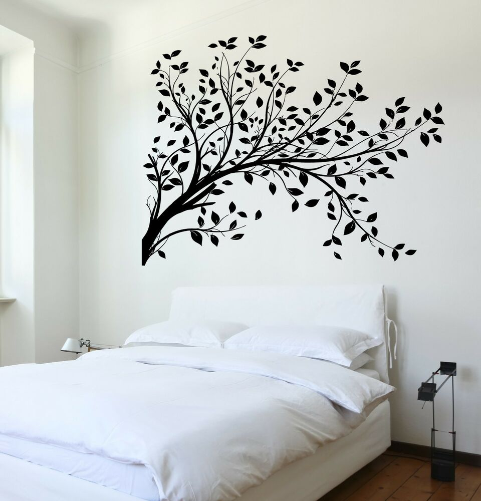Wall Decal Tree Branch Cool Art For Bedroom Vinyl Sticker ...