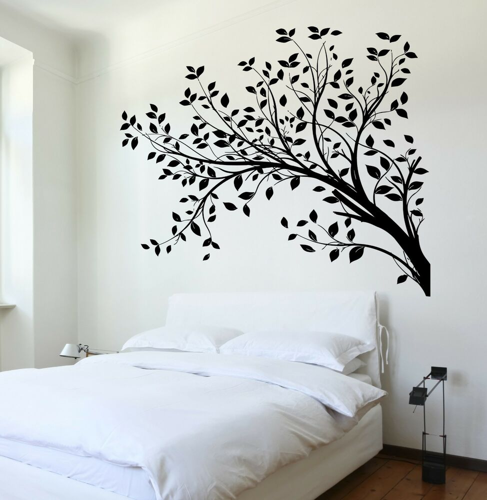 Wall Decal Tree Branch Cool Art For Living Room Vinyl