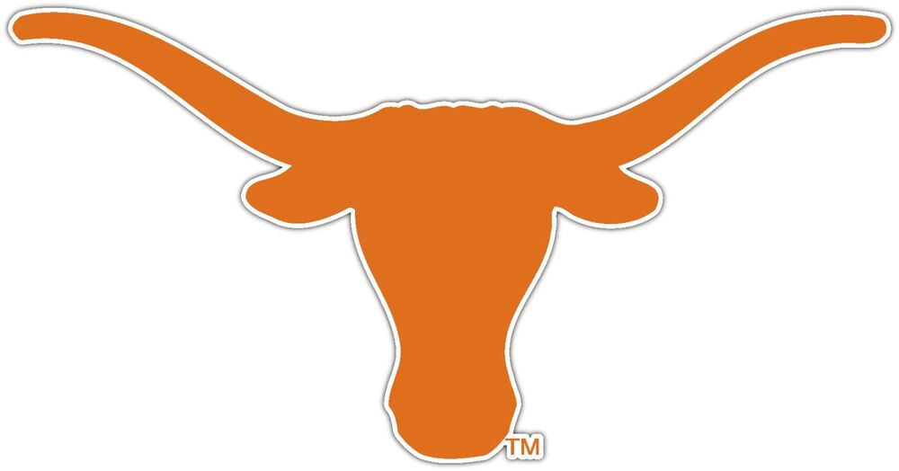 Texas Longhorns Ncaa Vinyl Car Bumper Window Sticker Decal