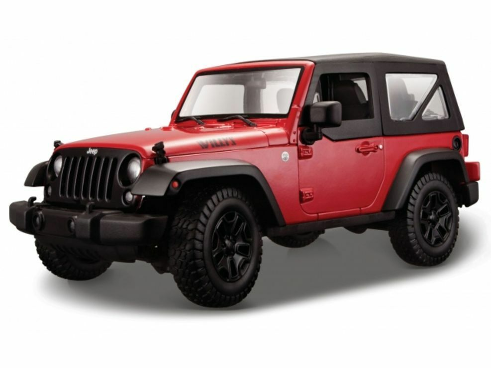 jeep wrangler 2014 maisto auto modell 1 18 neu ovp ebay. Black Bedroom Furniture Sets. Home Design Ideas