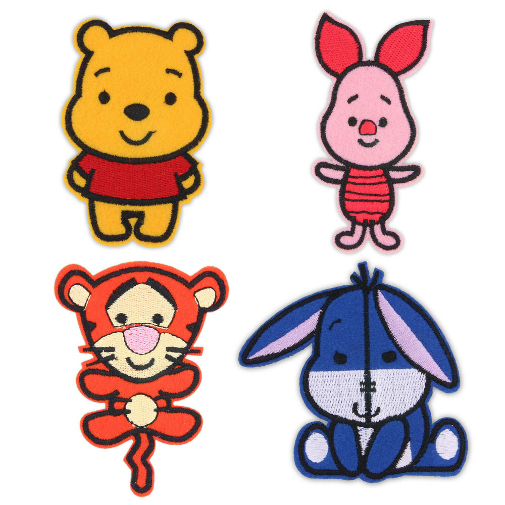 Winnie The Pooh Baby Iron / Sew On Patch Badge