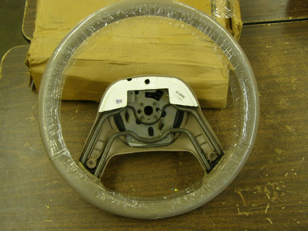 nos oem ford 1993 1994 ranger explorer steering wheel tan. Black Bedroom Furniture Sets. Home Design Ideas