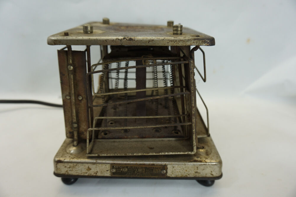 Electric Toaster History ~ Vintage electric toaster s estate stove co no