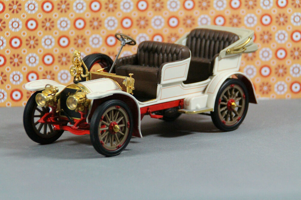mercedes simplex 1904 franklin mint modellauto oldtimer 1. Black Bedroom Furniture Sets. Home Design Ideas