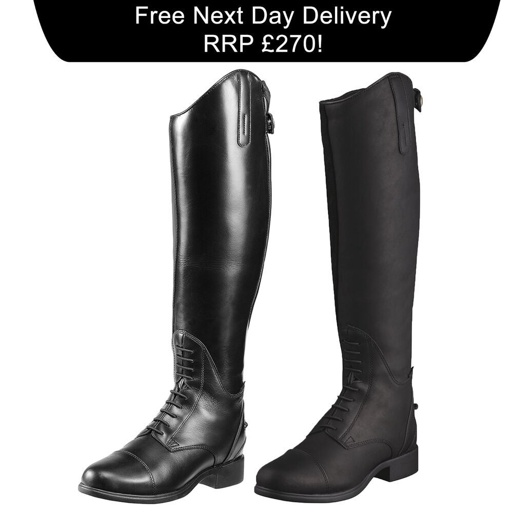 Ariat Bromont Tall H2o Insulated Long Leather Riding Boots