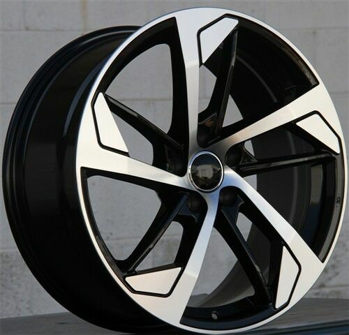 """19"""" 19x8.5 AUDI B8 RS4 Style WHEEL & TIRE PACKAGE SET(4"""
