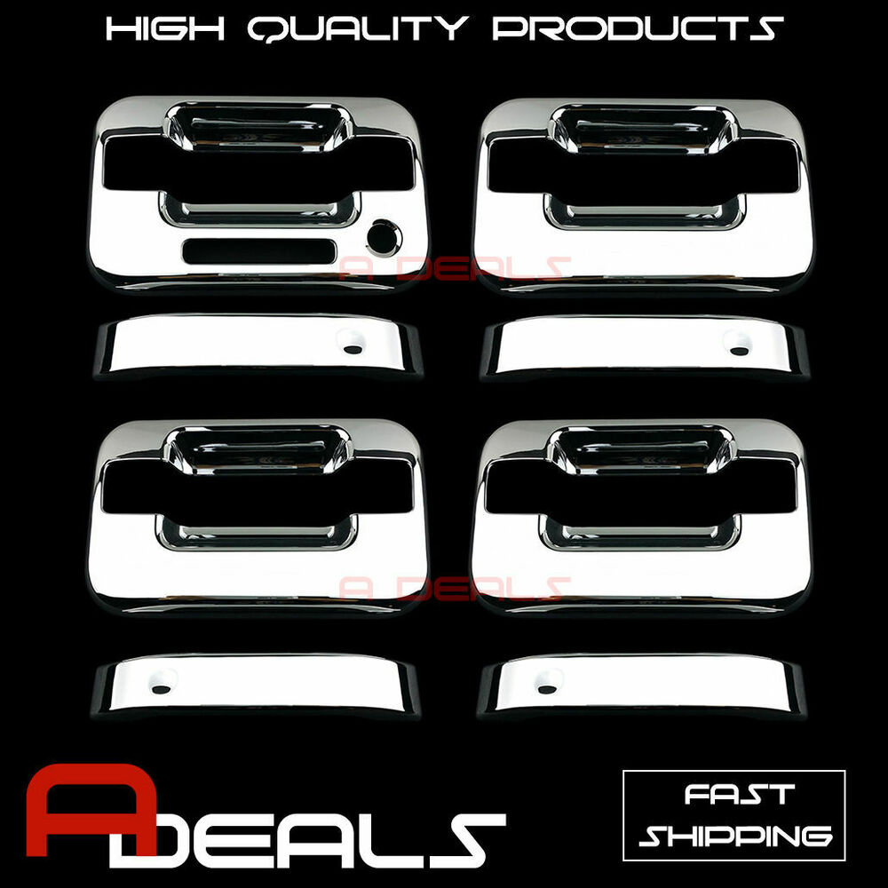 For Ford F 150 2004 2013 Chrome Door Handle Cover With