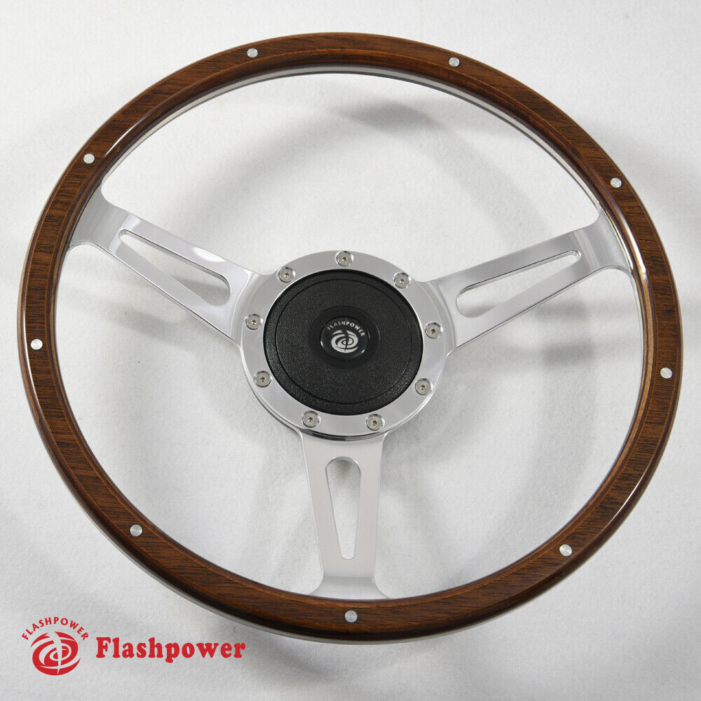 Classic Laminated Wood Steering Wheel Restoration Triumph