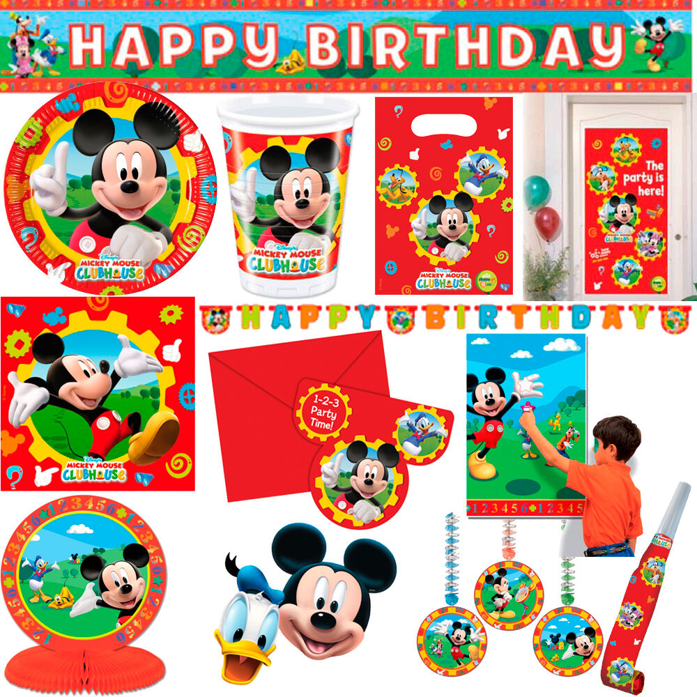 Mickey Mouse Clubhouse Party Supplies And Tableware