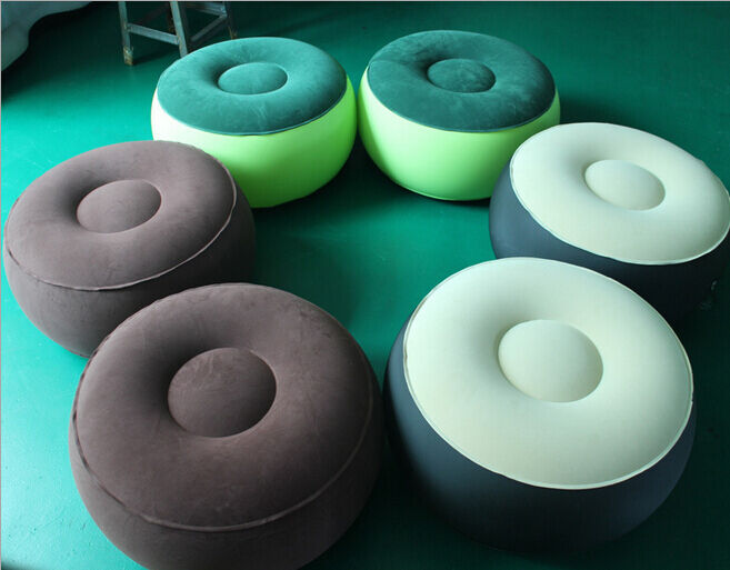 Inflatable Couch Bean Bag Air Cube Chair For Movies Gaming