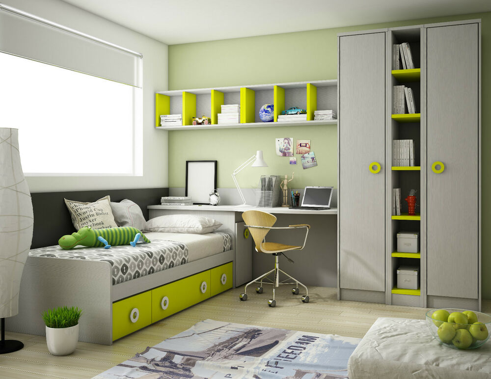 modernes design jugendzimmer in 41 farben mit. Black Bedroom Furniture Sets. Home Design Ideas