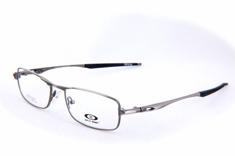 eyeglasses stainless steel frames m gun color light