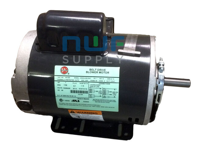 restaurant upblast roof exhaust fan motor 1 hp 1725 rpm