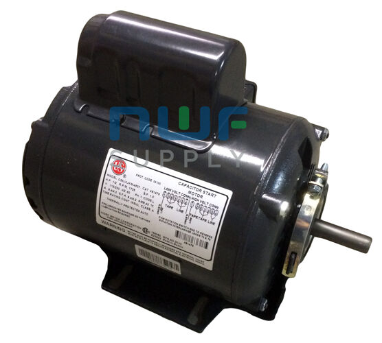 restaurant hood upblast roof exhaust fan motor 1 2 hp 1725