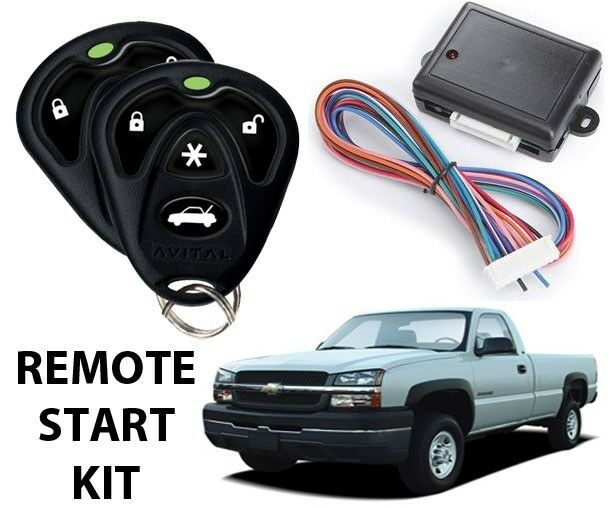 2003 2004 2005 2006 2007 chevy silverado remote start kit