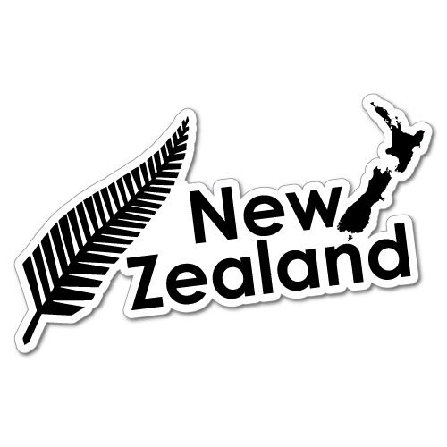 new zealand fern sticker nz kiwi car fern decal 6281en ebay. Black Bedroom Furniture Sets. Home Design Ideas