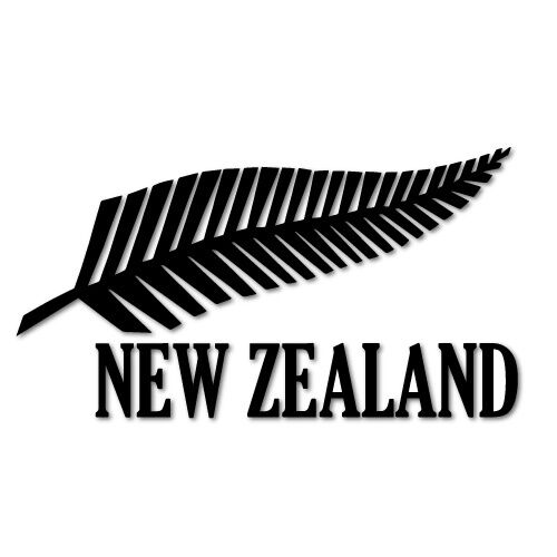 new zealand all blacks fern sticker nz kiwi car fern decal. Black Bedroom Furniture Sets. Home Design Ideas