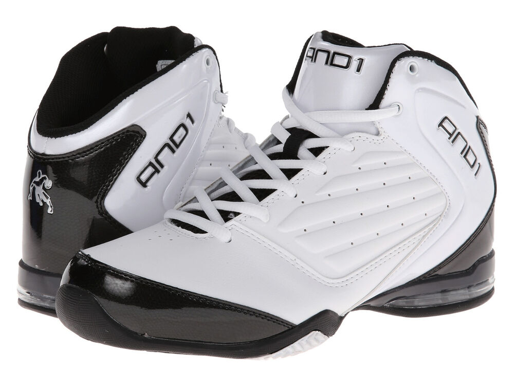 AND1 AND 1 Mens D1072MWBS Master 2 Mid Basketball Shoes [ White ...