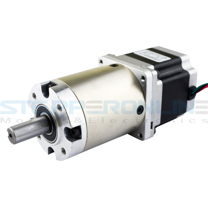 47 1 nema 23 stepper motor gear ratio planetary gearbox for Stepper motor gear box