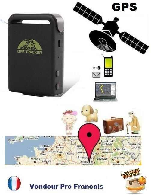 traceur gps micro espion gsm antivol vehicule auto sos tracker traqueur alarme ebay. Black Bedroom Furniture Sets. Home Design Ideas
