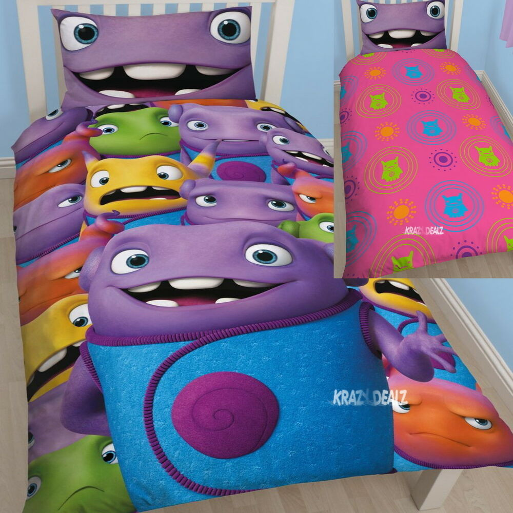 Dreamworks Home 'Boov' Oh Single Panel Duvet Cover Bed Set