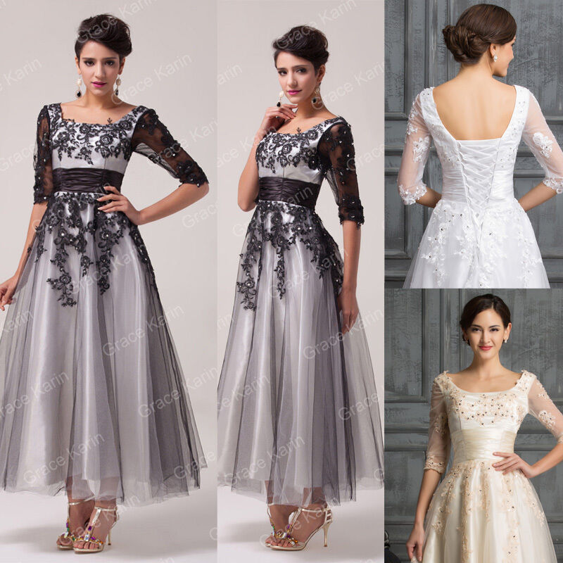 Wedding Dresses For Over 50s Uk: WEDDING GUEST Long Evening Dresses Mother Of The Bride