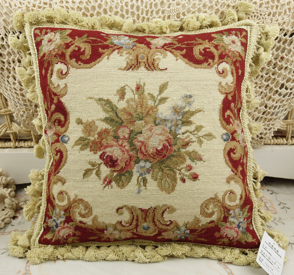 Shabby Chic Cottage Pillows : 14