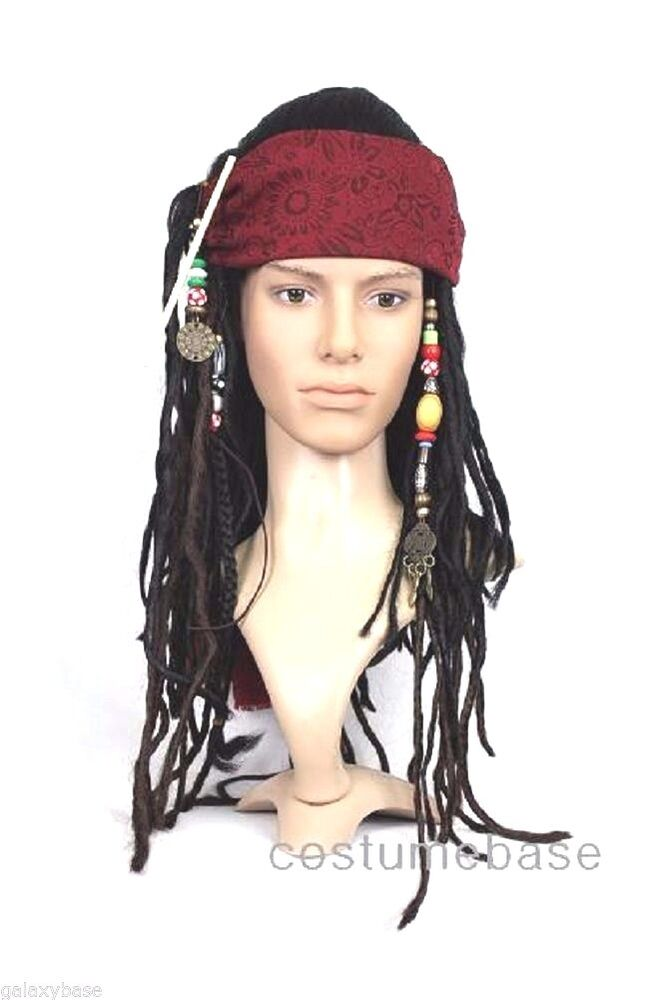 Womens Pirate Wig 43