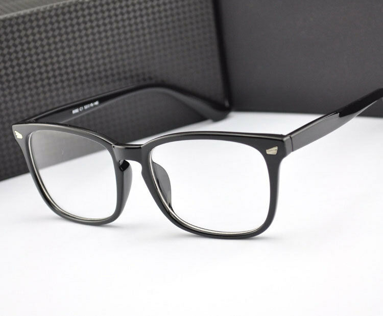 Glasses Frames Male : Vintage Wayfarer Men Women Myopia Glasses Eyeglasses Frame ...