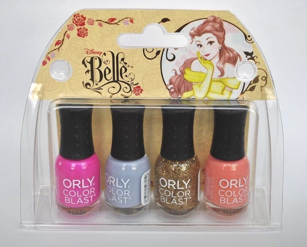 Orly Color Blast Disney Belle Mini Nail Polish Collection ...