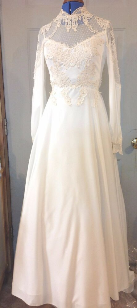 Vintage Alfred Angelo Wedding Dress Size Small