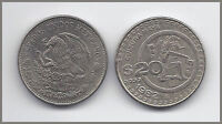 1 (ONE) WORLD COIN: MEXICO $20 PESO - MAYA CULTURE
